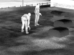 Conducting a Roof Moisture Inspection using Infrared Thermography 3