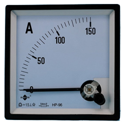 Figure 3. Ammeter with a full scale of 150 amps.