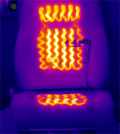Figure 4: Heated seat