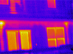Online Infrared for Building Inspection