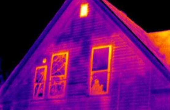 Building inspection with infrared thermography