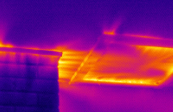 Thermal imaging in Building Applications
