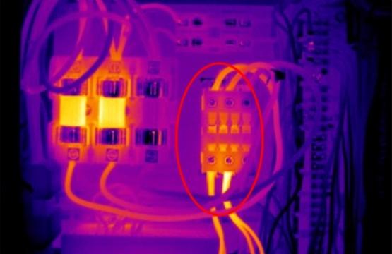 ¿Puede algo 'frío' ser indicador de una falla eléctrica?